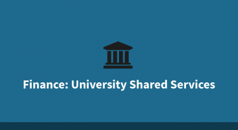 Finance - University Shared Services