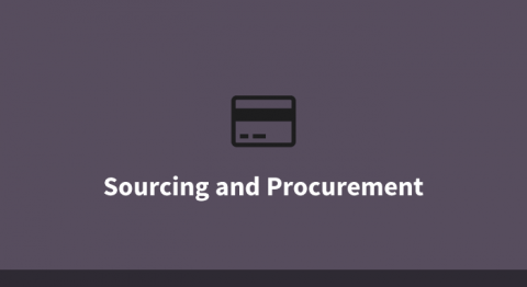 Sourcing and Procurement