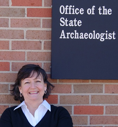 Mary De La Garza, Director Systems Administration, Office of the State Archaeologist