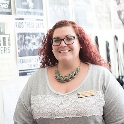 Nellie Hermanson, associate director at the Center for Student Involvement and Leadership, says new procedures have sped the process of hiring good people. Photo courtesy Division of Student Life.
